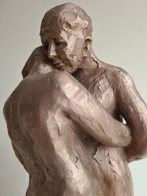 Escultura 32,5x21x10,5cm