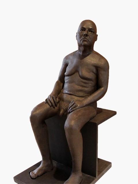 Escultura 40x50x75cm