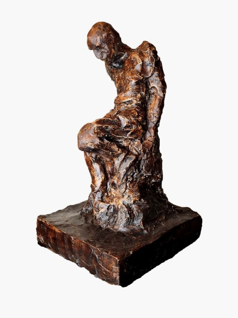 Escultura 20x16x32cm