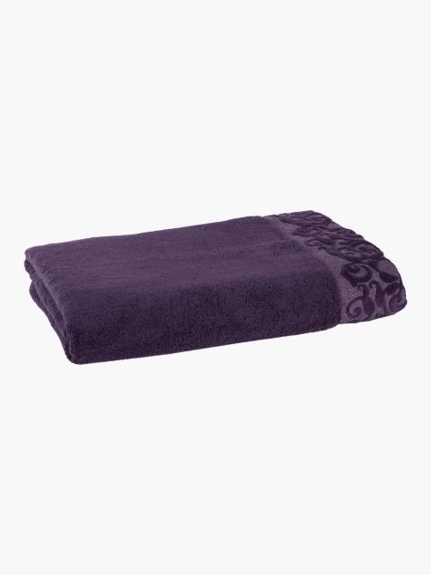 Toalha de banho lilás