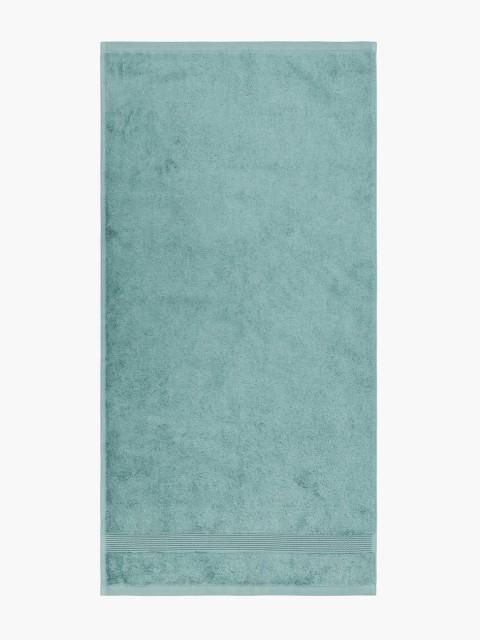 Toalla de baño azul océano
