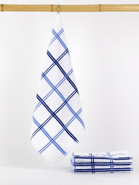 Conj. de 4 panos de felpo Azul