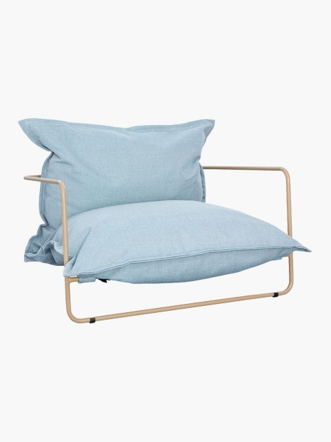 Lounge chair in Blue
