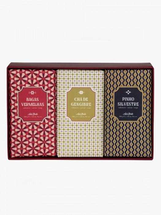 Caixa de Sabonetes Azulejos II