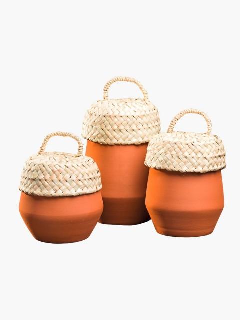 Conjunto de Potes Terracota