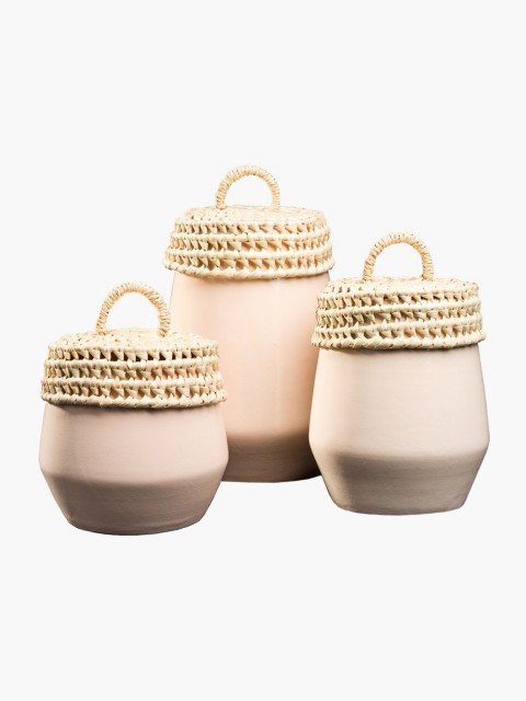Conjunto de Potes Branco