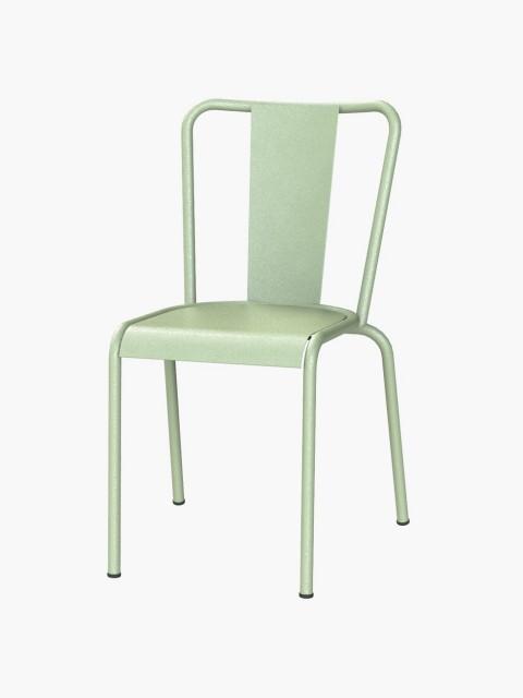 Cadeira Metálica Verde