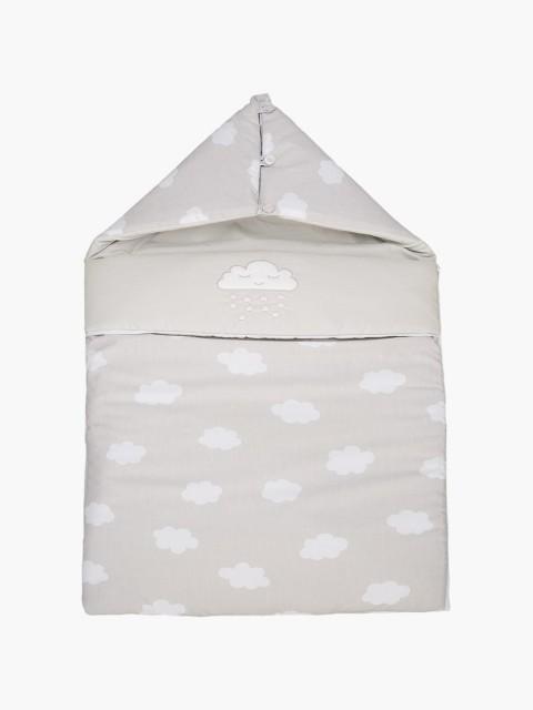 Bolsa gris para bebés