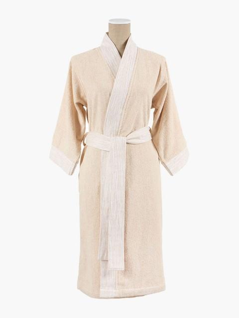 Albornoz kimono lino
