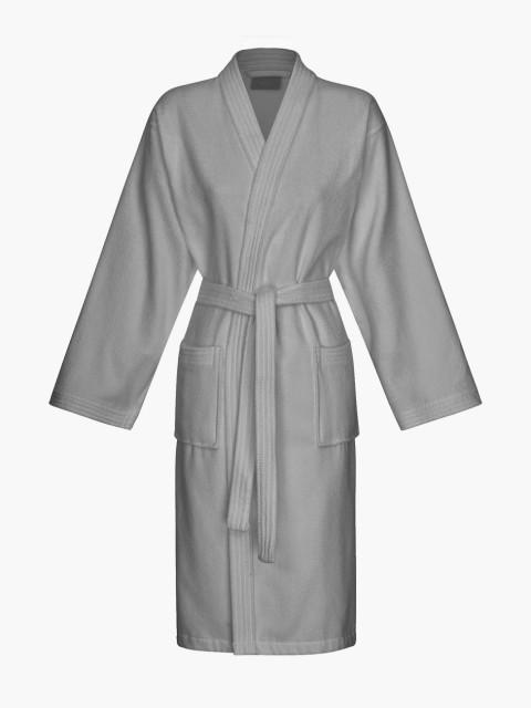 Kimono XL cinzento escuro