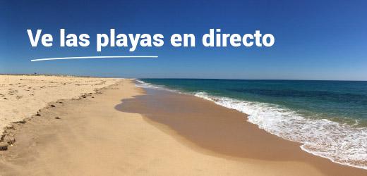 Ve las playas en directo
